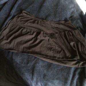 Black mini skirt from torrid